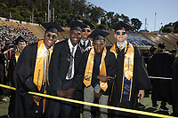 BERKELEY, CA - May 13, 2017: Class of 2017 Commencement