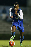 05 October 2015: Duke's Jeremy Ebobisse. The Duke University Blue Devils hosted the Hofstra University Pride at Koskinen Stadium in Durham, NC in a 2015 NCAA Division I Men's Soccer match. Duke won the game 3-2 in overtime.