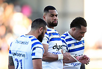 Joe Cokanasiga of Bath Rugby looks dejected after the match. Gallagher Premiership match, between Exeter Chiefs and Bath Rugby on March 24, 2019 at Sandy Park in Exeter, England. Photo by: Patrick Khachfe / Onside Images