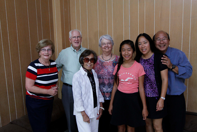 Jo Ann Taylor 80th birthday party in Palo Alto California, Saturday, September 20, 2014.  (Paul Sakuma Photography) www.paulsakuma.com