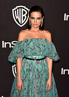 LOS ANGELES, CALIFORNIA - JANUARY 06: Camilla Belle attends the Warner InStyle Golden Globes After Party at the Beverly Hilton Hotel on January 06, 2019 in Beverly Hills, California. <br /> CAP/MPI/IS<br /> &copy;IS/MPI/Capital Pictures