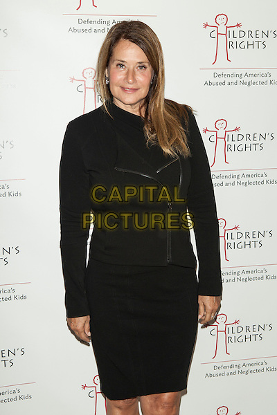 Lorraine Bracco <br /> attend the 8th Annual Children's Rights Charity Event at the Four Seasons Restaurant, New York City, NY., USA.<br /> October 7th, 2013 <br /> half length black dress jacket<br /> CAP/MPI/COR<br /> &copy;Corredor99/ MediaPunch/Capital Pictures