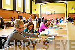 The Presidential election count centre for North Kerry at the KDYS Tralee on Friday.