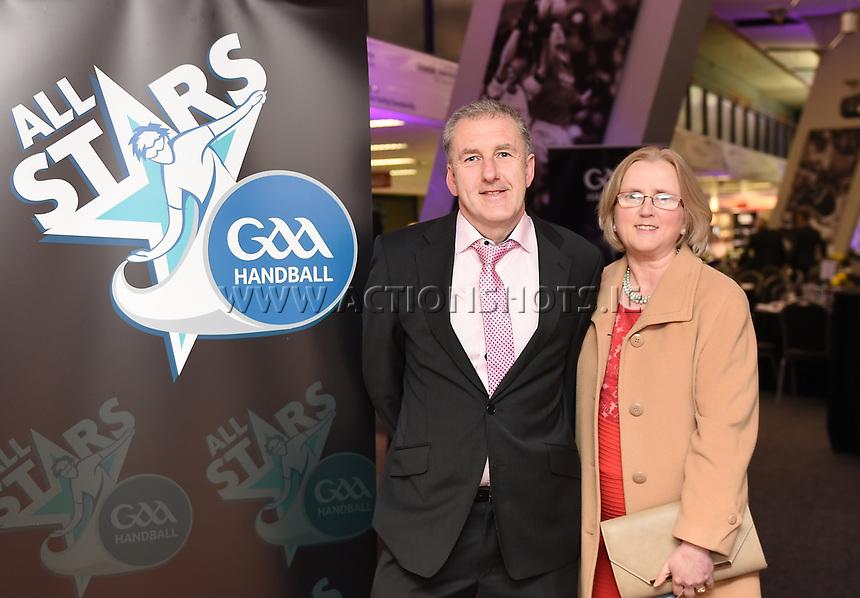 03/02/2018; GAA Handball All-Stars Awards 2018; Croke Park, Dublin;<br /> <br /> Photo Credit: actionshots.ie/Tommy Grealy