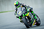 The rider Pol Espargaro during the MotoGP race at the Grand Prix Sachsenring in Germany. 13/07/2014. Samuel de Roman / Photocall3000