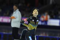 SCHAATSEN: HEERENVEEN: IJsstadion Thialf, 16-11-2012, Essent ISU World Cup, Season 2012-2013, Ladies 500 meter Division A, Miyako Sumiyoshi (JPN), ©foto Martin de Jong