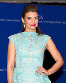 Lauren Cohan arrives for the 2015 White House Correspondents Association Annual Dinner at the Washington Hilton Hotel on Saturday, April 25, 2015.<br /> Credit: Ron Sachs / CNP