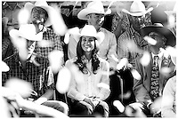 Prince William, Duke of Cambridge and Catherine, Duchess of Cambridge attend the Calgary Stampede Parade on day 9 of the Royal couple's tour of North America on July 8, 2011 in Calgary, Canada...Tel: 07515 876520.e mail: info@kisforkate.com