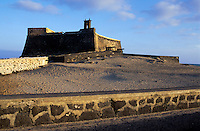 Lanzarote, Castillo de San Gabriel in Arrecife, Lanzarote, Canary Islands, Spain