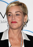 "BEVERLY HILLS, CA, USA - MAY 31: Actress Sharon Stone arrives at the Aviva Family And Children's Services Annual ""A"" Fundraising Gala held at the Regent Beverly Wilshire Hotel on May 31, 2014 in Beverly Hills, California, United States. (Photo by Celebrity Monitor)"