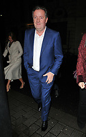Piers Morgan at the Wellness Awards 2018, BAFTA, Piccadilly, London, England, UK, on Thursday 01 February 2018.<br /> CAP/CAN<br /> &copy;CAN/Capital Pictures