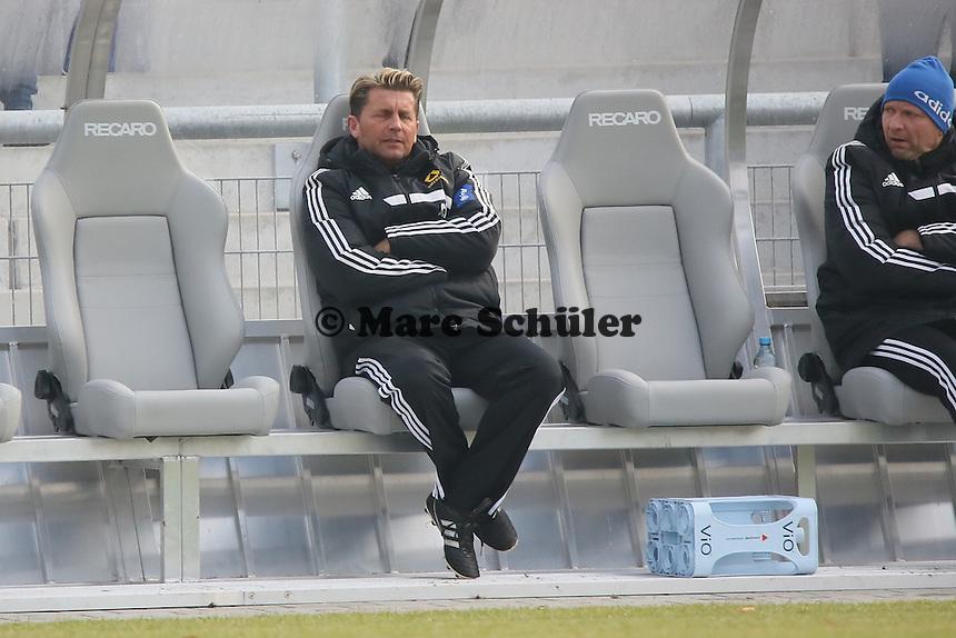 Trainer Colin Bell (FFC) frustriert - 1. FFC Frankfurt vs. FC Bayern Muenchen, Stadion am Brentanobad
