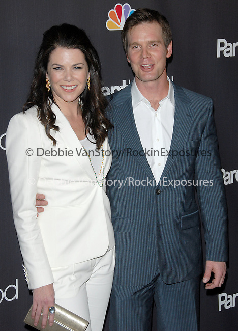 "Lauren Graham & Peter Krause at the NBC Universal's ""Parenthood"" Premiere Screening held at The DGA in West Hollywood, California on February 22,2010                                                                   Copyright 2009  DVS / RockinExposures"