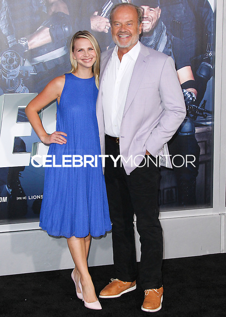 HOLLYWOOD, LOS ANGELES, CA, USA - AUGUST 11: Kayte Walsh, Kelsey Grammer at the Los Angeles Premiere Of Lionsgate Films' 'The Expendables 3' held at the TCL Chinese Theatre on August 11, 2014 in Hollywood, Los Angeles, California, United States. (Photo by Xavier Collin/Celebrity Monitor)
