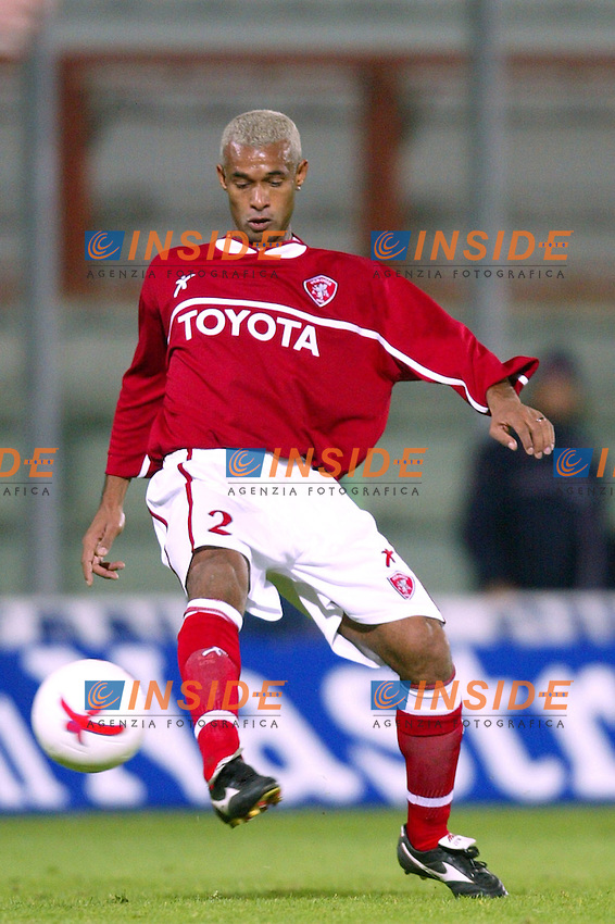 Perugia 15/10/2003 Uefa Cup 1st round return match <br /> Perugia Dundee 1-0 <br /> Ferreira Jose Marcelo ZE MARIA (Perugia)