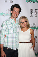Christian Hable, Rachael Harris<br /> at the The Groundlings 40th Anniversary Gala, HYDE Sunset: Kitchen + Cocktails, Los Angeles, CA 06-01-14<br /> David Edwards/DailyCeleb.com 818-249-4998