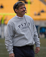 24 November 2007: Dave Wannstedt..The South Florida Bulls defeated the Pitt Panthers 48-37 on November 24, 2007 at Heinz Field, Pittsburgh, Pennsylvania.