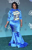 17 November 2019 - Las Vegas, NV - TaRhonda Jones. 2019 Soul Train Awards Red Carpet Arrivals at Orleans Arena. Photo Credit: MJT/AdMedia