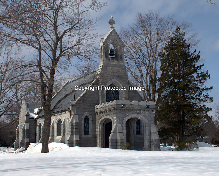 The Chapel at Evergreen Cemetery