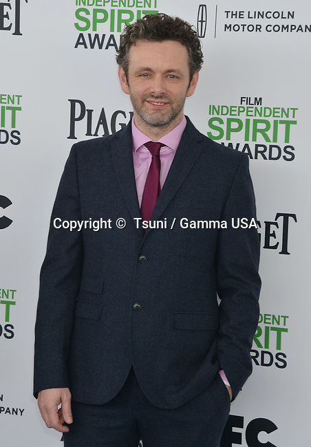 Michael Sheen 191 at the Film Independent Spirit Awards 2014on the Santa Monica Beach In Los Angeles.