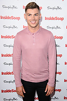 Kieron Richardson at the Inside Soap Awards 2017 held at the Hippodrome, Leicester Square, London, UK. <br /> 06 November  2017<br /> Picture: Steve Vas/Featureflash/SilverHub 0208 004 5359 sales@silverhubmedia.com