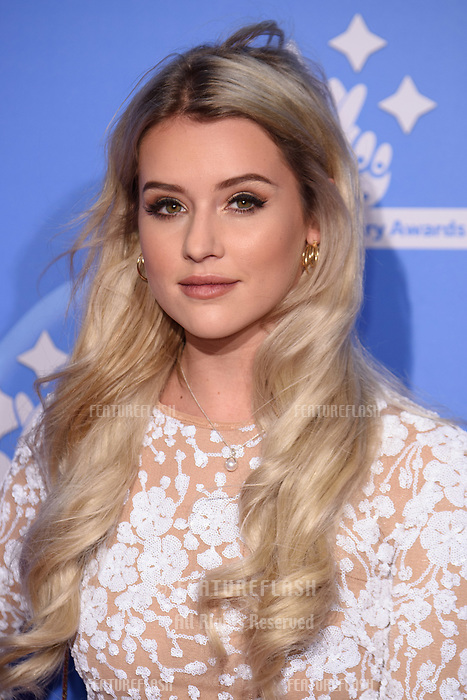 LONDON, UK. September 21, 2018: Tina Stinnes at the National Lottery Awards 2018 at the BBC Television Centre, London.<br /> Picture: Steve Vas/Featureflash