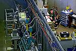 Acelerador de particulas. Laboratorio Nacional de Luz Sincrotron - LNLS. Campinas. Sao Paulo. 2012. Foto de Juca Martins.
