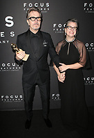 BEVERLY HILLS, CA - JANUARY 7: Gary Oldman and Gisele Schmidt at the Focus Features 75th Golden Globe Awards After-Party at the Beverly Hilton Hotel in Beverly Hills, California on January 7, 2018. <br /> CAP/MPI/FS<br /> &copy;FS/MPI/Capital Pictures