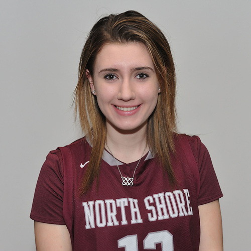 Gabrielle Zaffiro of North Shore poses for a portrait during Newsday's 2017 All-Long Island girls basketball photo shoot at company headquarters on Monday, March 27, 2017.