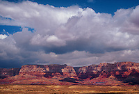 714900001 cloud formations form over the vermillion cliffs in northern arizona