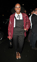 Annaliese Dayes at the LFW s/s 2018 Vin + Omi catwalk show &amp; afterparty, Andaz Liverpool Street Hotel, Liverpool Street, London, England, UK, on Monday 11 September 2017.<br /> CAP/CAN<br /> &copy;CAN/Capital Pictures