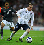 Wayne Rooney of England during the Friendly International match at Wembley Stadium, London. Picture date 28th May 2008. Picture credit should read: Simon Bellis/Sportimage