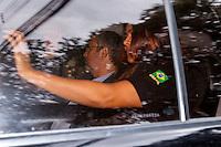 CURITIBA, PR,03.02.2017 – LAVA-JATO – O ex-ministro Antonio Palocci, chega a sede da Justiça Federal para participar do depoimento na tarde desta sexta-feira (07) ( Foto: Paulo Lisboa/Brazil Photo Press)