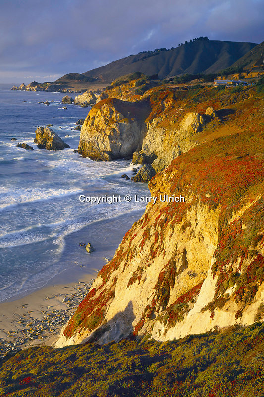 Rocky Point from near Rocky Creek Bridge<br /> Highway 1<br /> Big Sur Coast<br /> Monterey County,  California
