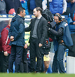 Pedro Caixinha and Ian Cathro at full time