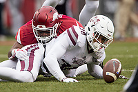 Hawgs Illustrated/BEN GOFF <br /> Arkansas vs Mississippi State Saturday, Nov. 18, 2017, at Reynolds Razorback Stadium in Fayetteville.