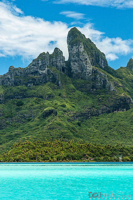 Mount Otemanu in Bora Bora, French Polynesia