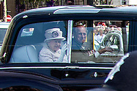 Her Majesty the Queen Elizabeth II & the Duke of Edinburgh.<br />