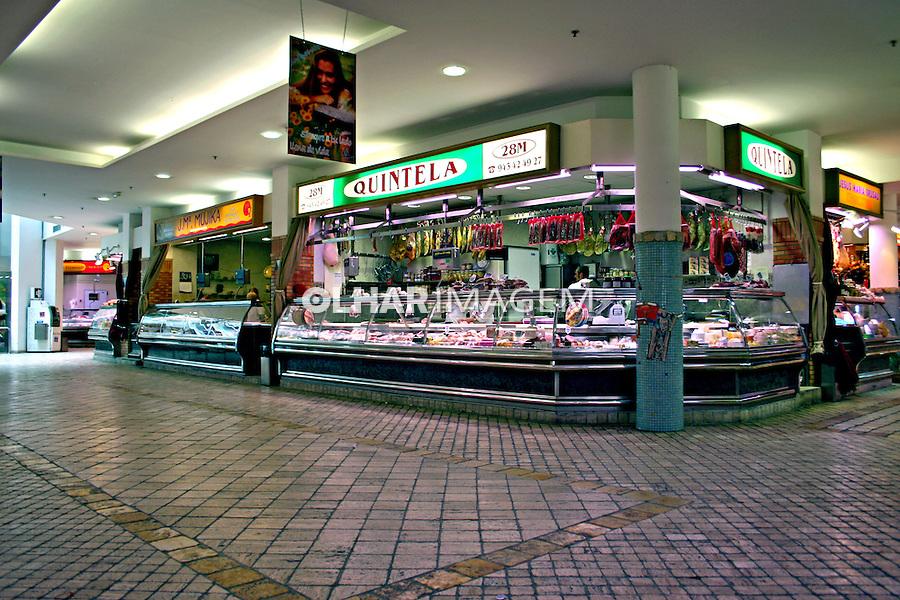 Açougue no mercado em San Sebastian, Espanha. 2007. Foto de Marcio Nel Cimatti.