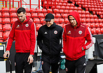 Michael Verrips, Muhamed Besic and Jack Rodwell of Sheffield Utd during the Premier League match at Bramall Lane, Sheffield. Picture date: 9th February 2020. Picture credit should read: Simon Bellis/Sportimage