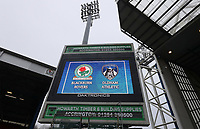 A general view of Ewood Park, home of Blackburn Rovers FC<br /> <br /> Photographer Rachel Holborn/CameraSport<br /> <br /> The EFL Sky Bet League One - Blackburn Rovers v Oldham Athletic - Saturday 10th February 2018 - Ewood Park - Blackburn<br /> <br /> World Copyright &copy; 2018 CameraSport. All rights reserved. 43 Linden Ave. Countesthorpe. Leicester. England. LE8 5PG - Tel: +44 (0) 116 277 4147 - admin@camerasport.com - www.camerasport.com
