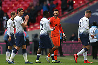 Spurs players after Tottenham Hotspur vs Leicester City, Premier League Football at Wembley Stadium on 10th February 2019