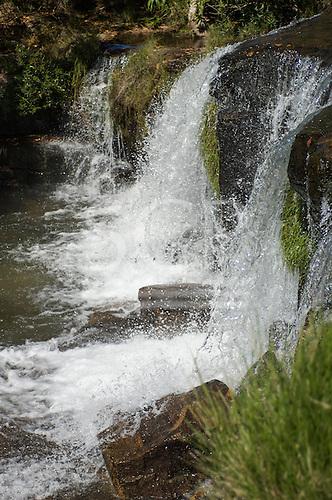 Brazil. Near Canarana Crystal waterfall.