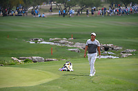Byeong Hun An (KOR) approaches the green on 18 during day 3 of the Valero Texas Open, at the TPC San Antonio Oaks Course, San Antonio, Texas, USA. 4/6/2019.<br /> Picture: Golffile | Ken Murray<br /> <br /> <br /> All photo usage must carry mandatory copyright credit (&copy; Golffile | Ken Murray)