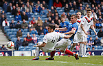 Lee McCulloch's goalmouth shot deflected wide by Scott Ross