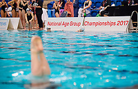 Picture by Allan McKenzie/SWpix.com - 25/11/2017 - Swimming - Swim England Synchronised Swimming National Age Group Championships 2017 - GL1 Leisure Centre, Gloucester, England - Swim England National Age Group Championships, branding/