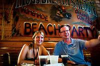 Lunch at Hog's Breath Saloon, Key West, Flordia, USA. Photo by Debi Pittman Wilkey