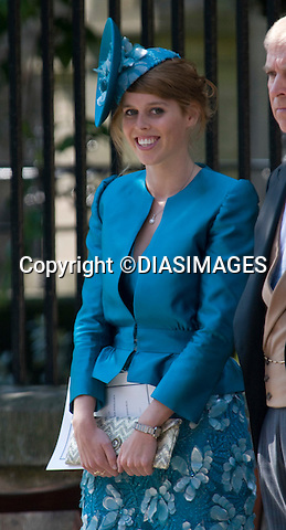 """PRINCESS BEATRICE.ZARA PHILLIPS & MIKE TINDALL.wedding Canongate Kirk, Edinburgh_30/07/2011.Mandatory Credit Photo: ©DIASIMAGES..**ALL FEES PAYABLE TO: """"NEWSPIX INTERNATIONAL""""**..No UK Usage until 29/07/2011.IMMEDIATE CONFIRMATION OF USAGE REQUIRED:.DiasImages, 31a Chinnery Hill, Bishop's Stortford, ENGLAND CM23 3PS.Tel:+441279 324672  ; Fax: +441279656877.Mobile:  07775681153.e-mail: info@newspixinternational.co.uk"""