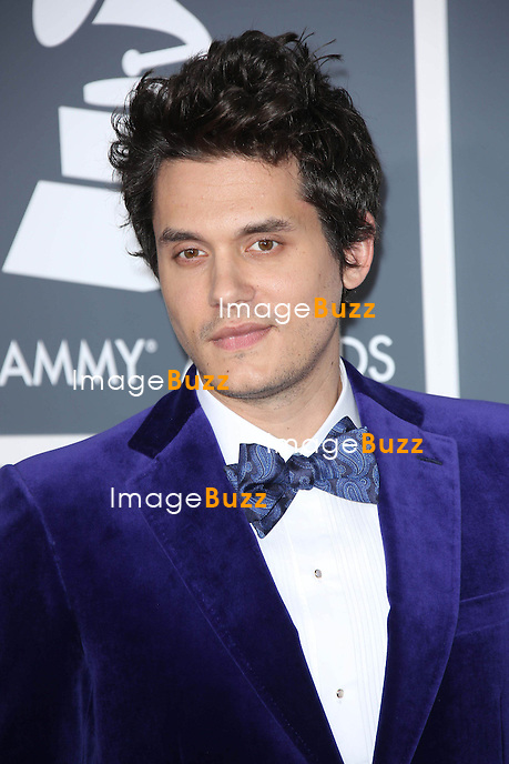 John Mayer   at the 55th Grammy Awards-Arrivals  held at the Los Angeles Convention Center.
