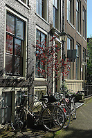 Facade of a house in Amsterdam